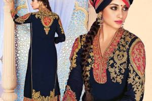 Khazaana Long Length Anarkali Frocks Dresses 2014 for Women 10