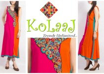 Kolaaj Winter Dresses 2013-14 001