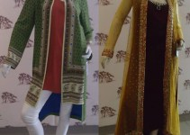 Sania Maskatiya Party Wear Winter Dresses 2013-2014 for Women 1
