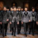 Normans Men Wear Winter Collection 2015 by Dolce & Gabbana