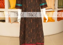 Thredz Latest Winter Wear New Arrivals Dress Collection 2014 For Ladies (1)