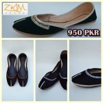 Zari Khussa Mahal Kolhapuri Women Shoes Collection 8