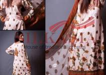 Latest Beautiful Chiffon Collection 2014 For Women By Silkasia (1)