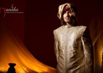 Mansha Wedding Wear Dresses 2014 001
