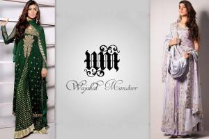 Wajahat Mansoor Exclusive Party Wear Collection 2014 for Women 2