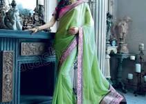 Latest Natasha Couture Impeccable Sarees Designs Collection 2014-2015 For Women (1)