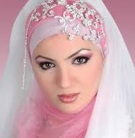 bridal hijab Collection 2014