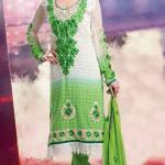 Bollywood Star Evelyn Sharma Churidar Suit Collection 2014 6