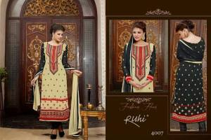 Brand New Home Ruhi Anarkali Clothes Selection 2014 For Ladies (3)