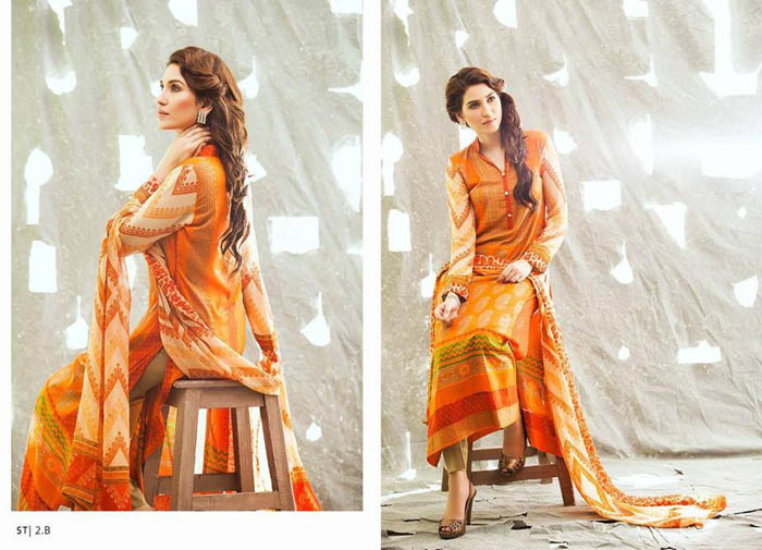 Clothes Middle of the Summer Months Choice 2014 through Shariq Fabrics (4)