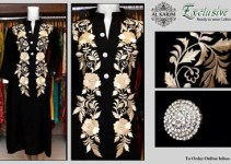 Exclusive Embroidery Stitcehd Collection 2014 1