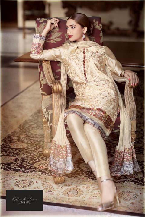 Females Occasion Use Clothes 2014 Selection through Riffat & Sana (2)