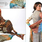 Ghani Kaka Textile New Mid Summer Dress collection 2014 1