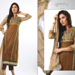 Ghani Kaka Textile New Mid Summer Dress collection 2014 13