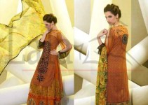 Lala's Embroidered Suits Collection 2014