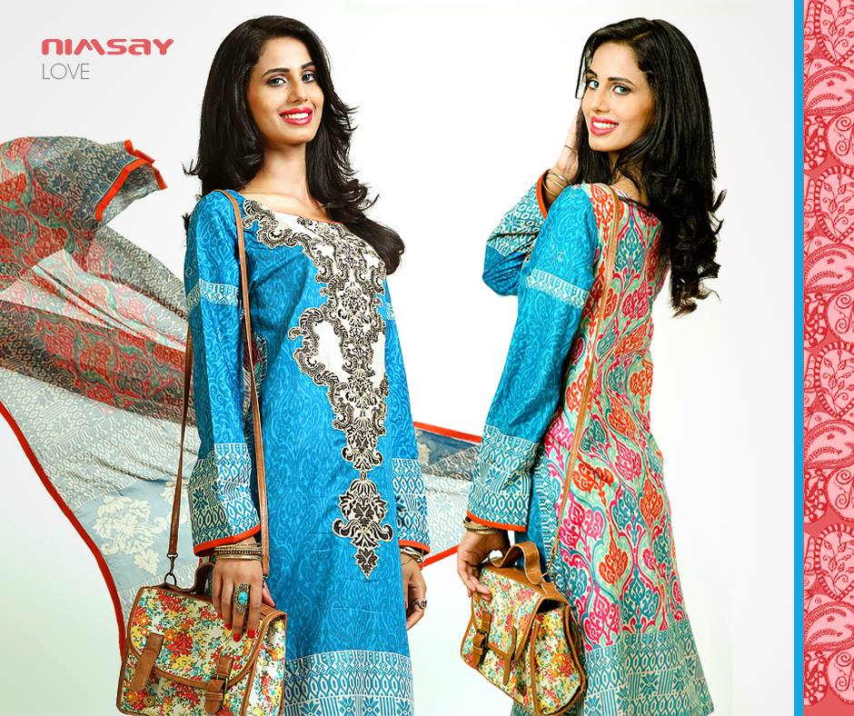 Nimsay summer dresses collection 2014v 2
