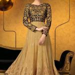 Party Wear Georgette Dresses Collection 2014 1