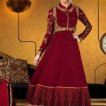 Party Wear Georgette Dresses Collection 2014 4