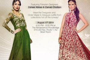 Zaheer Abbas Modern Engagement Have on Gown Way 2014 (1)
