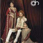 Ahsan Hussain Wedding & Bridegroom Garments Fashions (4)
