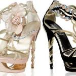 Beautiful Crystal High Heels Collection 2014