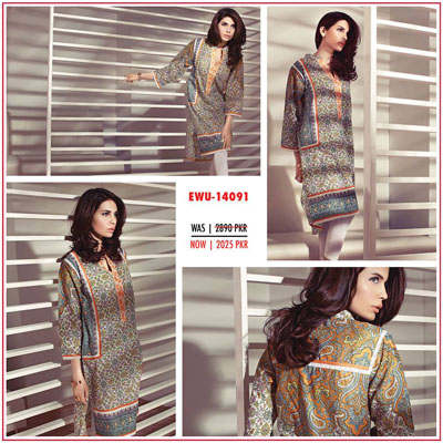 Ethnic by outfitters New Mid Summer Dresses Collection 2014 4