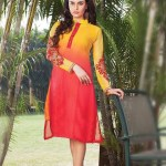 Quality Winter Fancy Small Kurti Concepts 2014-15 For Females (1)