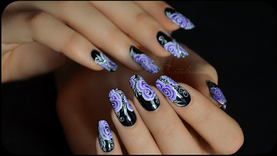 Amazing nail art Collection 2014-15 6