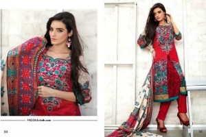 Firdous Clothes Autumn Attractive Prints 2014 For Girls (3)