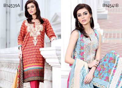 Khaadi Winter Dresses Collection 2014-15 5