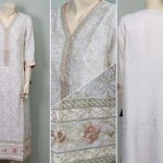 Partially Embroided Fashion Kurti Variety 2014-15 For Ladies (2)