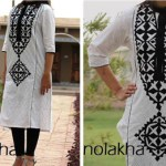 SIndhi Embroidery Kurta Collection 2014-15 6