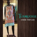 Turquoise New Autumn Dresses Collection 2014-15 5