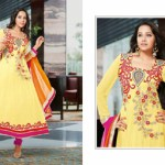 Zobi Fabrics Indian Party Wear Dresses Collection 2014-15 5