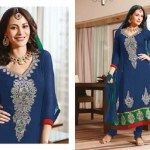 Zobi Fabrics Indian Party Wear Dresses Collection 2014-15 9