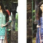 Maria B Cool Season Scarf Suits 2014 For Girls (1)