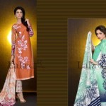 Mashaal Embroidered Shawl Collection 2014-15 4