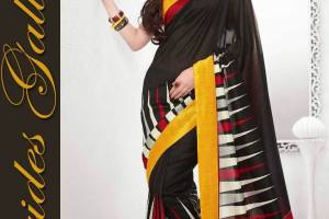 Modern Movie Star Fashion 2015 In Branded Sarees (6)