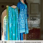Pashmina Woolen Collection by GulAhmed 2015 1