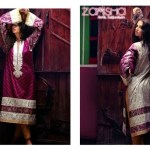 Zanisha Stitched Linen Garments 2014-15 by Al-Zohaib (7)