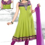 Henna Function Yellow Dresses Collection For Girls 2014-15 (5)