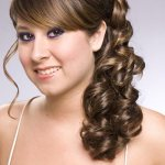 New Year Occasion Long Hair Style For Ladies (4)