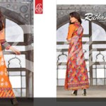 Range Cotton Collection By Rujhan Fabric 17
