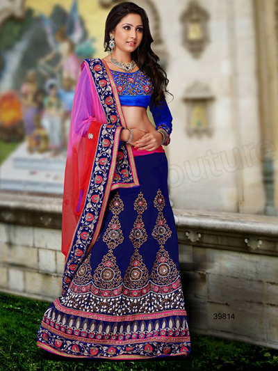 Wedding Wear Lehenga Sarees 12