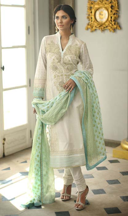 New Premium Lawn Eid Ul Fitr 2015 Collection by Orient Textiles (3)
