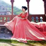 Lovely Frock and Salwar Kameez 2015 by Sayena (8)