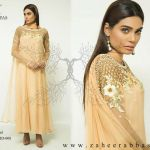 Zaheer Abbas Newest Eid Party Wear Dresses Collection 2015 (1)