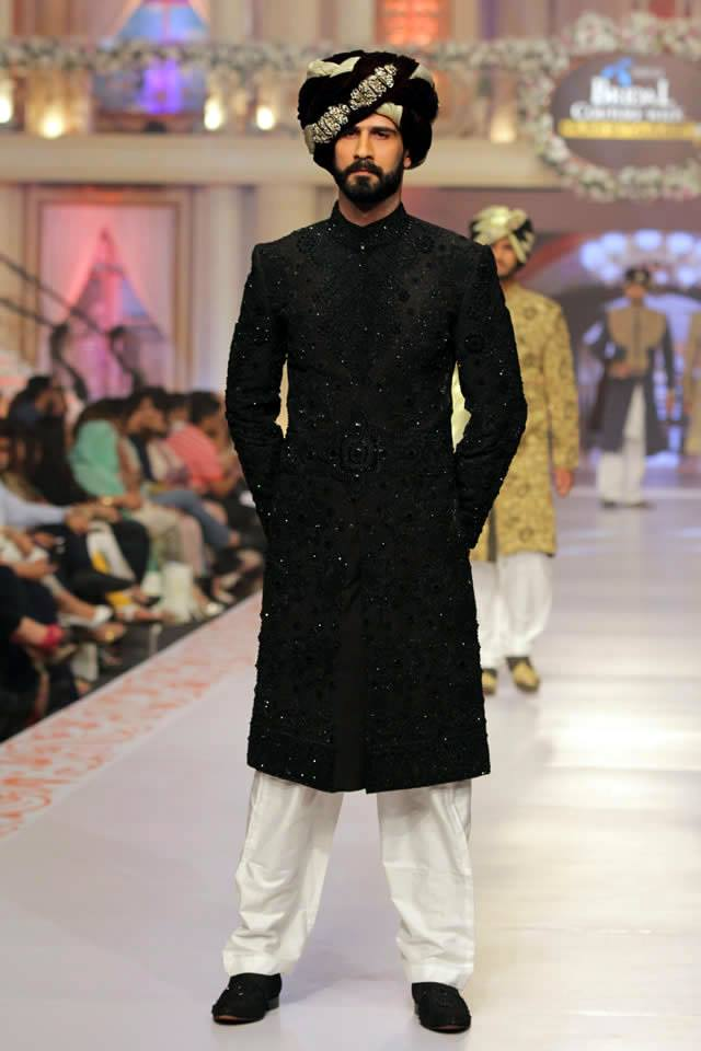 Pakistani Bridal Amp Groom Dresses 2015 By Arsalan Iqbal