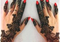 Half hadn Latest 2015-2016 Best New Mehndi Designs For Girls