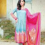 Lala Classic Cotton Casual wear Printed Lawn Design or Girls (1)